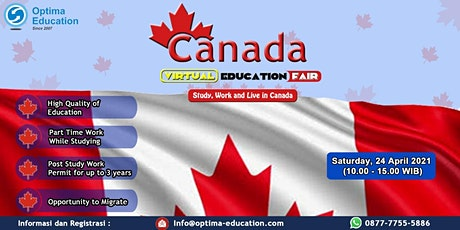 Virtual Canada Education Expo tickets
