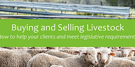 Buying and Selling Livestock- Naracoorte tickets