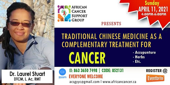 TRADITIONAL CHINESE MEDICINE AS A COMPLIMENTARY TREATMENT FOR CANCER image