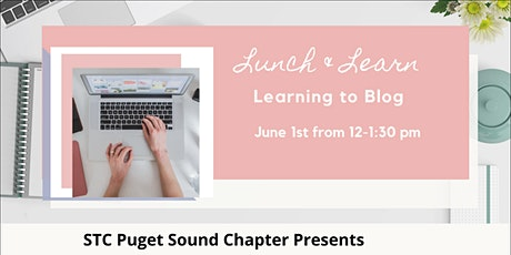 Lunch and Learn: Writing Blogs tickets