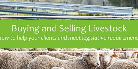Buying and Selling Livestock- Clare tickets