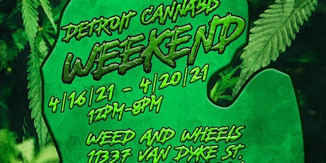Detroit Cannabis Weekend (All 5 days Included with ticket purchase) tickets