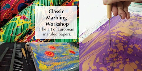 Classic Marbling Workshop (The art of European marbled papers) tickets