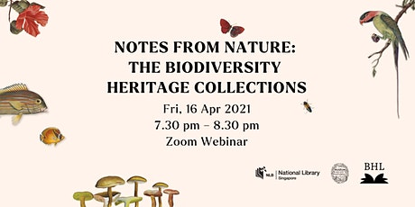 Notes from Nature: The Biodiversity Heritage Collections tickets