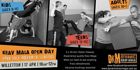 KRAV MAGA - OPEN DAY tickets