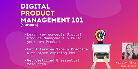 Digital Product Management 101 Tickets