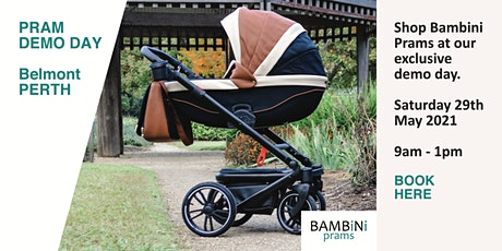 Pram Demo Day Belmont PERTH tickets