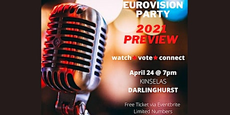 Sydney OGAE Australia Members 2021 Preview Party tickets