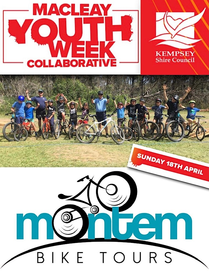 MACLEAY YOUTH WEEK 2021 Mountain Bike Tours & Skills Activities image