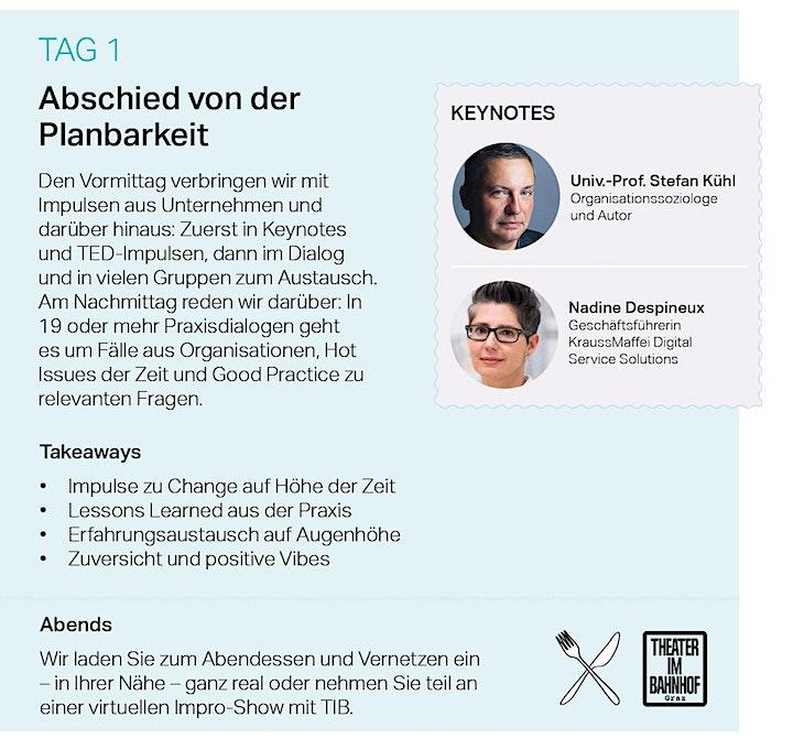 Change Management Werkstatt 2021: Bild