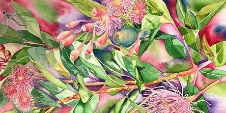 The Friday Gallery Watercolour live online 2hr class: Eucalyptus Flowers tickets