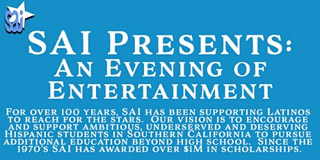 SAI Presents Our Annual Music Benefit Concert: An Evening of Entertainment tickets