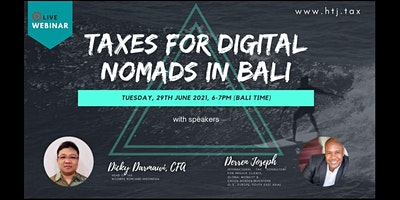 (WEBINAR) Taxes for Digital Nomads in Bali