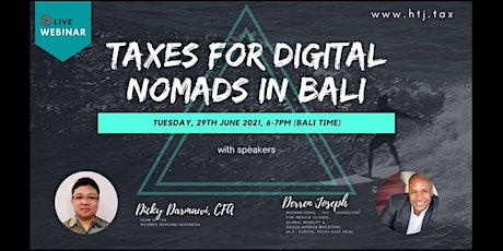 (WEBINAR) Taxes for Digital Nomads in Bali tickets
