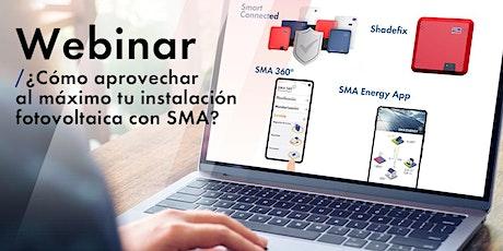 ¿Cómo aprovechar al máximo tu instalación fotovoltaica con SMA? entradas