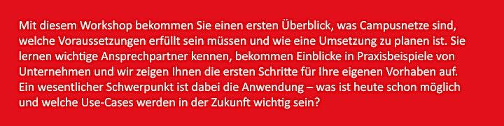 """Grundlagenworkshop """"Industrial 5G - Campusnetze"""" in Lüdenscheid: Bild"""