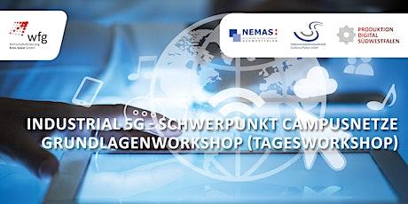"""Grundlagenworkshop """"Industrial 5G - Campusnetze"""" in Wetter (Ruhr) tickets"""