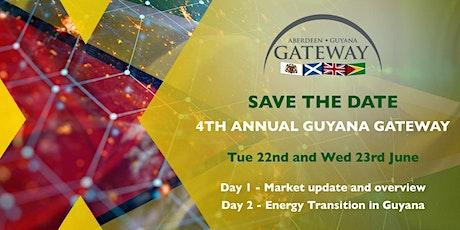 Aberdeen Guyana Gateway 2021 tickets