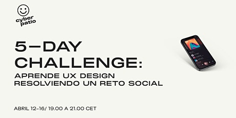 5-day challenge: Aprende Diseño UX resolviendo un reto social entradas