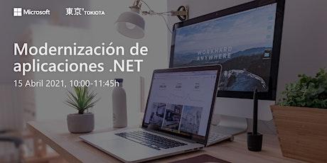 Evento TOKIOTA – Modernización de aplicaciones.Net tickets