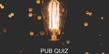 Online networking over drinks - Pub Quiz tickets