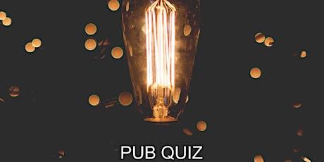 Online networking over drinks - Pub Quiz tickets