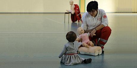 Lezione di Manovre Salvavita Pediatriche IN PRESENZA ALL'APERTO biglietti