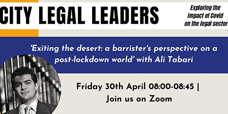 Exiting the desert: a barrister's perspective on a post-lockdown world tickets