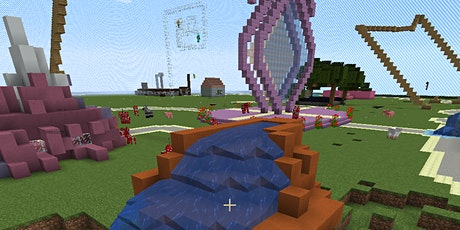 Online Ferienkurs Minecraft: Wir bauen einen Freizeitpark (10.05.-13.05.21) Tickets