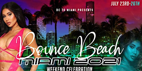 BOUNCEBEACH MIAMI 2021 tickets