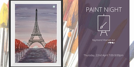 Paint Night - Romantic Paris tickets
