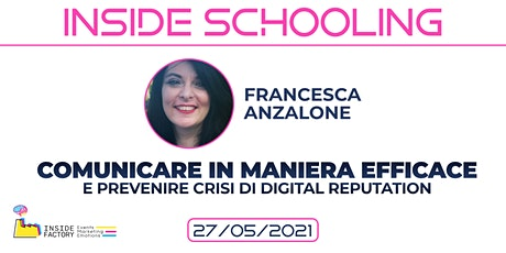 Come comunicare in maniera efficace e prevenire crisi di Digital Reputation biglietti