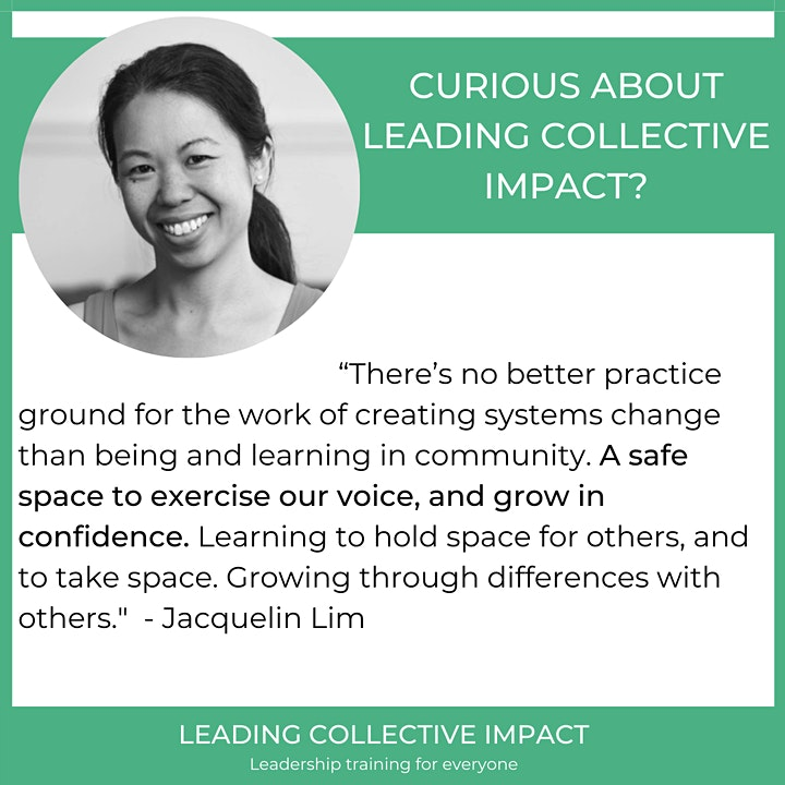 She Leads Change Leading Collective Impact - Tell me more! image