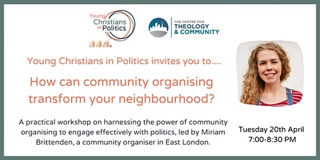YCIP April gathering: Community Organising Workshop tickets