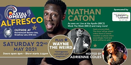 The Coastal Comedy Alfresco Show with Nathan Caton! tickets
