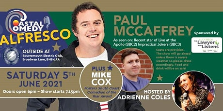 The Coastal Comedy Alfresco Show with Paul McCaffrey tickets