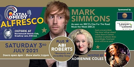 The Coastal Comedy Alfresco Show with Mark Simmons tickets
