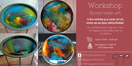 Workshop epoxy/resin art (ochtend) tickets