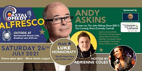 The Coastal Comedy Alfresco Show with Andy Askins tickets