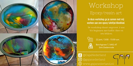 Workshop epoxy/resin art (middag) tickets