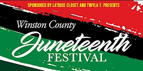 Winston County Juneteenth Festival tickets