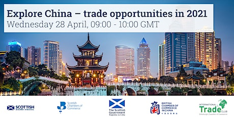 Explore China – trade opportunities in 2021 tickets