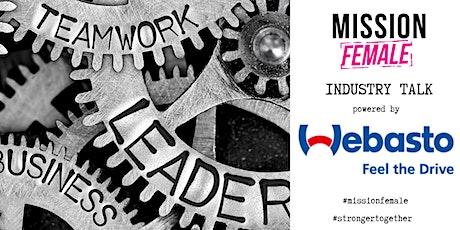 Industry-Talk: Die Zukunft der Mobilität // powered by Webasto Tickets