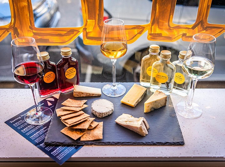 Taster Sessions: Cheese & Wine image