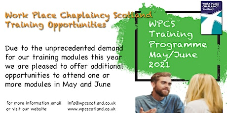 An Introduction to Work Place Chaplaincy tickets