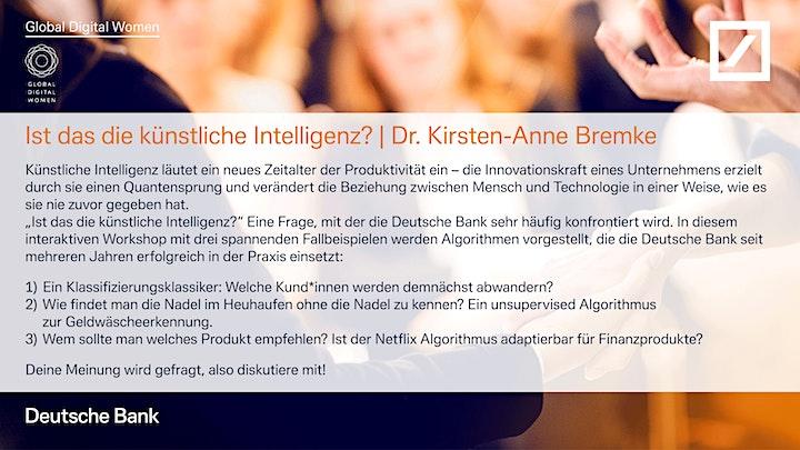 Female Empowerment Day - powered by GDW x Deutsche Bank: Bild