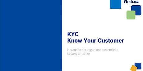 Webinar - Know your Customer (KYC) - Herausforderungen und Lösungsansätze Tickets