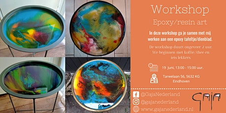 Workshop epoxy/resin art, Eindhoven (middag) tickets
