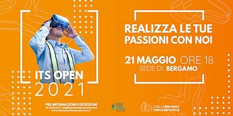 ITS OPEN 2021 - Focus sulla sede di Bergamo biglietti