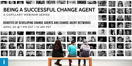 Webinar: Being a Successful Change Agent tickets